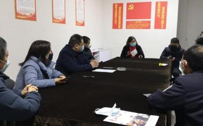 滑县政府副县长来河南怡众医疗器械有限公司实地考察新型冠状病毒疫情防控应急物资